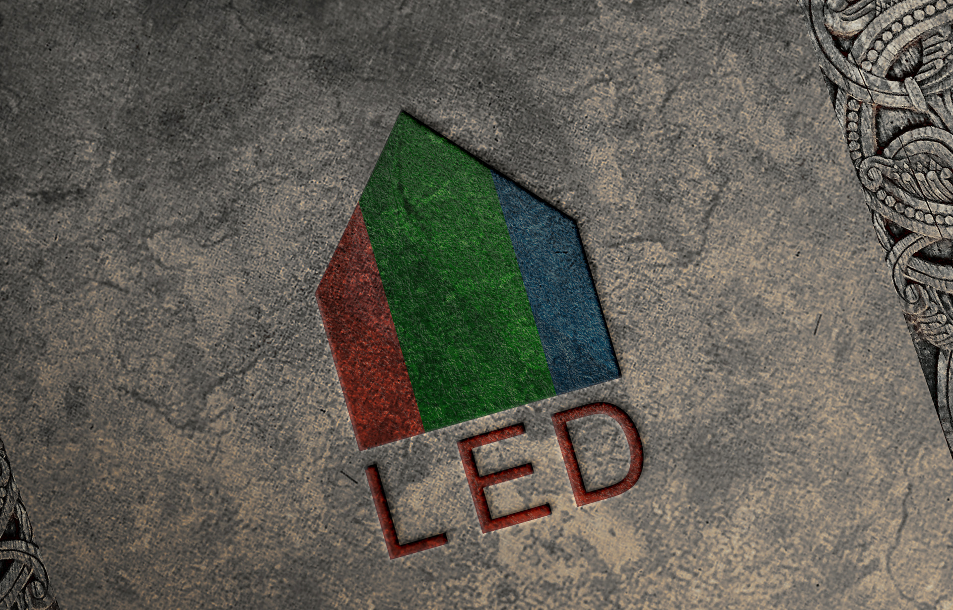 Branding for LED chain